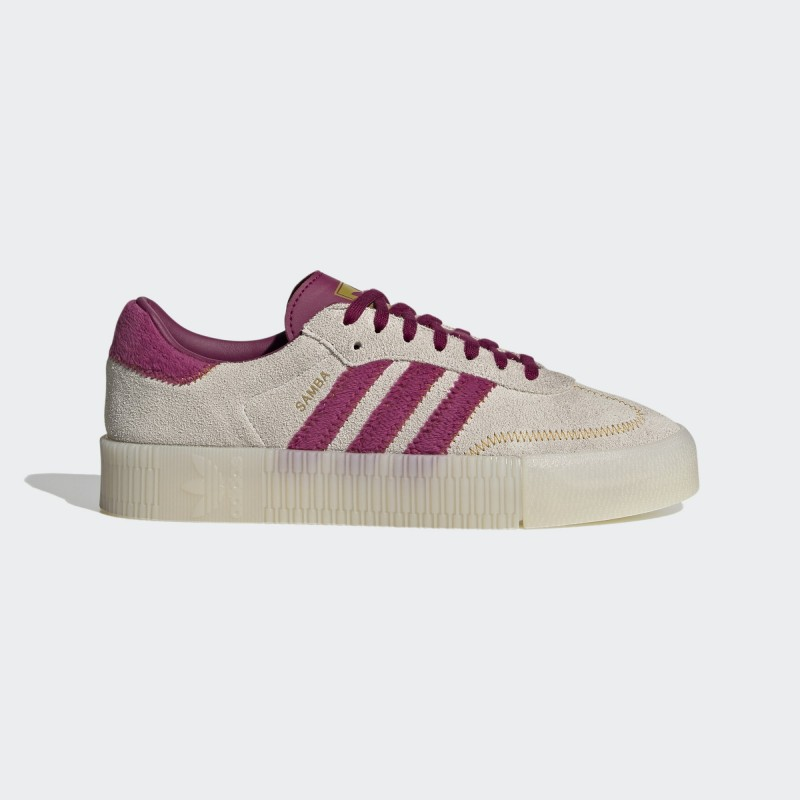 Adidas Sambarose Chaussures Raw Blanche/Power Berry/Legacy Or FZ3637