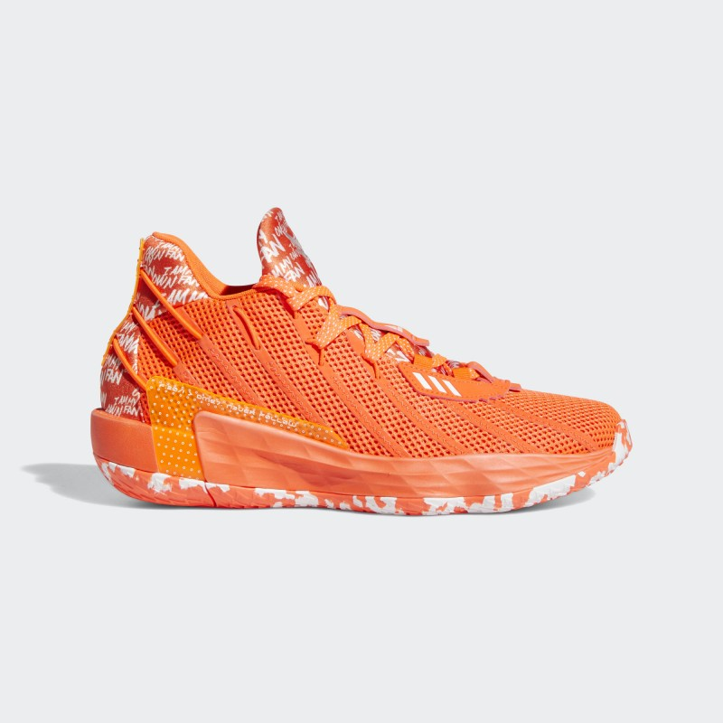 Adidas Dame 7 I Am My Own Fan Chaussures Solar Rouge/Cloud Blanche/Solar Rouge FY0161