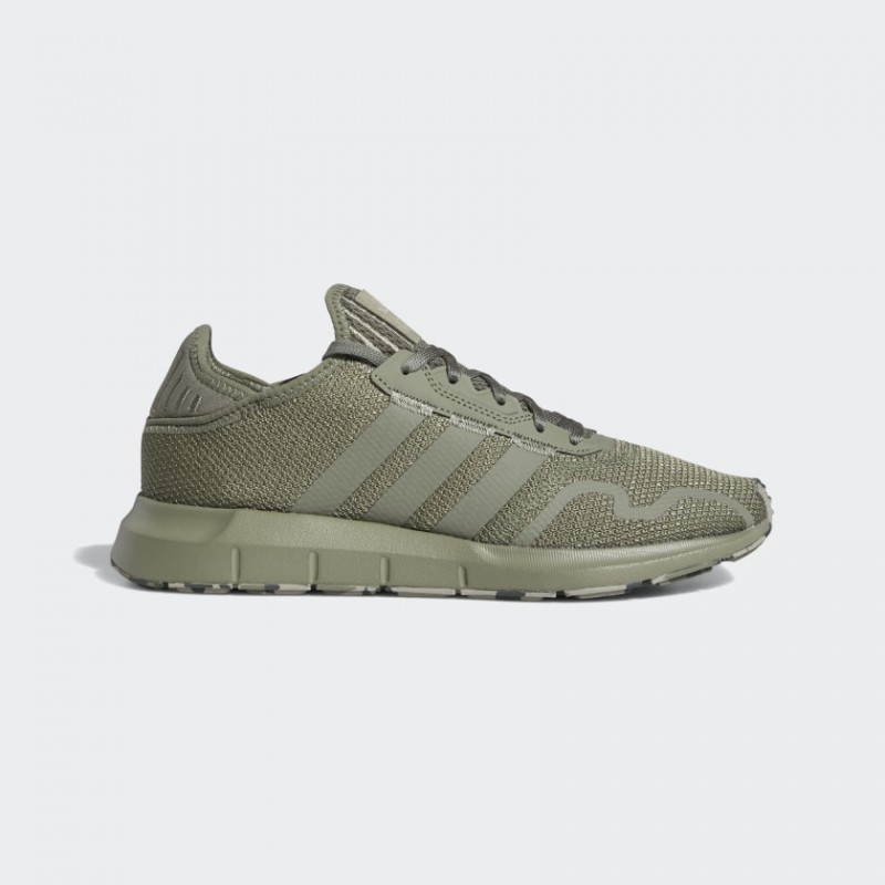 Adidas Swift Run X Chaussures Legend Earth/Feather Gris/Legacy Vert FY2997