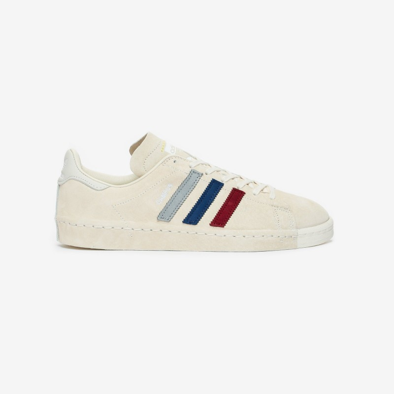 RECOUTURE x Adidas Campus 80 Chalk Blanche FY6755